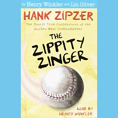 The Zippity Zinger audiobook cover art