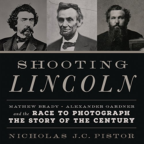 Shooting Lincoln audiobook cover art