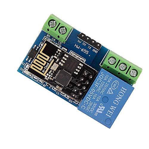 YELLAYBY Retardo de tensión ESP8266 5V WiFi Módulo de relé Internet de Las Cosas Smart Home Teléfono aplicación de Control Remoto Interruptor de Control