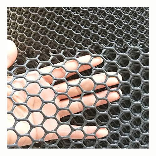 XXN Hundenetz,schwarzes Hartplastiknetz Gartensicherheit Teichsieb Netz Geflügelrotwildvogel-Baumzaun-Plastiknetze Im Freien für Kinder Blume Pflanzen Huhn Matte Haustier Barriere Katzenfensternetz