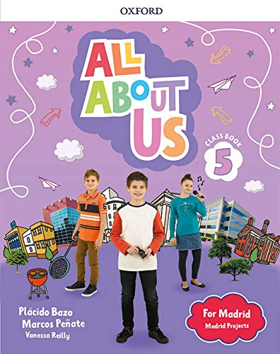 All About Us for Madrid 5. Class Book . Edición Madrid