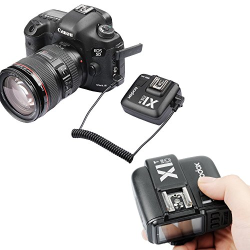 Godox X1T-C 2.4G TTL Wireless Flash Trigger for Canon EOS DSLR Camera (X1T-C Transmitter)