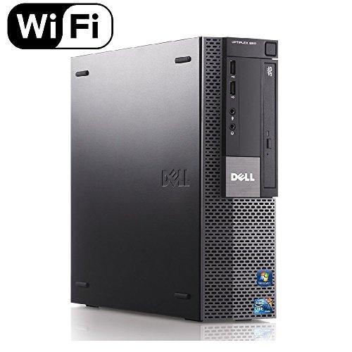 Dell Optiplex 980 Desktop Computer, i5-650 3.2GHz, 8GB, 500GB DVD, Windows 10 Pro (Renewed)