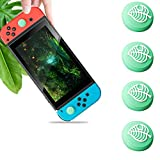 Haobuy Thumb Grip Caps for Nintendo Switch & Switch Lite, Sweet Joystick Cap for Nintendo Switch & Lite Leaf Crossing, Soft Silicone Cover for Joy-con Controller Accessories