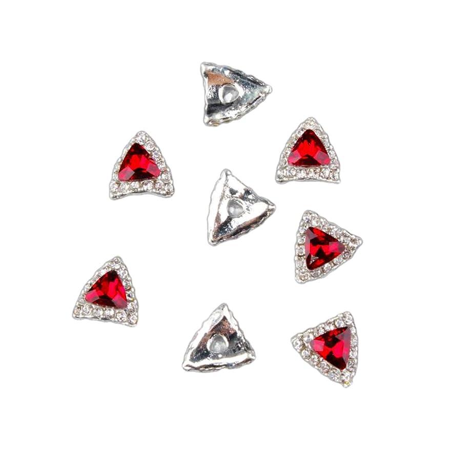 ホップたるみ告白SONONIA 10本 ネイルステッカー アクリルネイル ネイルアート ステッカー DIY 手作り デコレーション 6タイプ選べ - 赤1