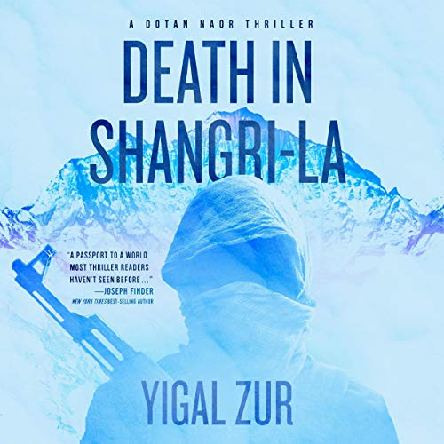 Death in Shangri-La audiobook cover art