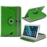 i-Tronixs (grün) NVIDIA Shield K1[20,3cm] Fall [Standfunktion] für NVIDIA Shield K1[20,3cm] Tablet PC Hülle Cover Tablet Stabiler Synthetisches PU-Leder 360° Drehbar Fall mit 4Federn
