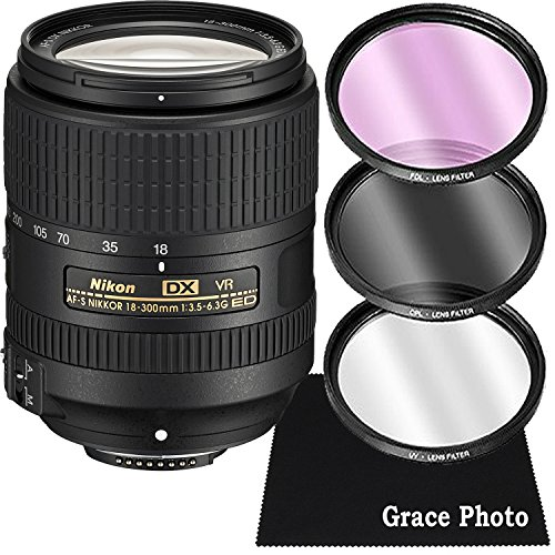Nikon AF-S DX NIKKOR 18-300mm f/3.5-6.3G ED VR...