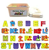 26 Pieces Alphabet Robot Transforming Action Figure Alpha-bots Toys for Kids ABC Learning, Birthday Party, School Classroom Rewards, Carnival Prizes, Pre-school Education Toy, Montessori Teaching Toy