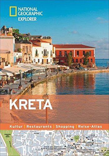 Kreta erkunden mit handlichen Karten: Kreta-Reiseführer für die...