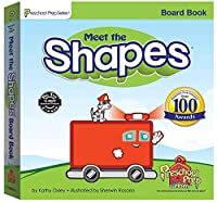 Meet the Shapes Board Book 0977021513 Book Cover