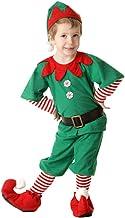Fossen Disfraz Elfo Navidad Niñas Niños 2-16 Años Tops +
