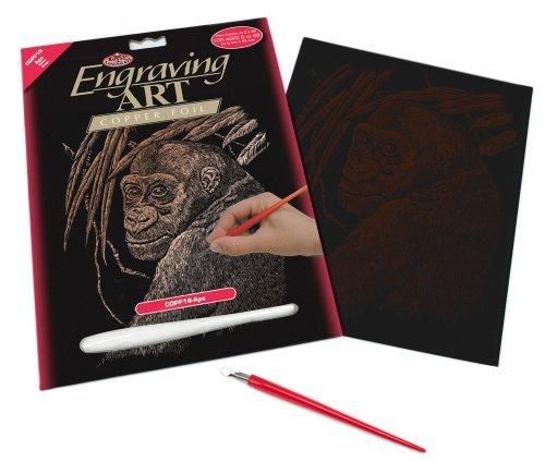 Royal & Langnickel COPF17 - Engraving Art/Kratzbilder in Kupfer Din A4 - Kolibri