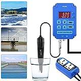 Probador de calidad del agua para piscinas, cría de peces, estanques, plantas,...