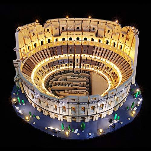 Kepae Juego de iluminación LED para LEGO Roman Colosseum 10276 – Custom DIY Luminous Building Blocks Juego de iluminación para Roman Colosseum 10276
