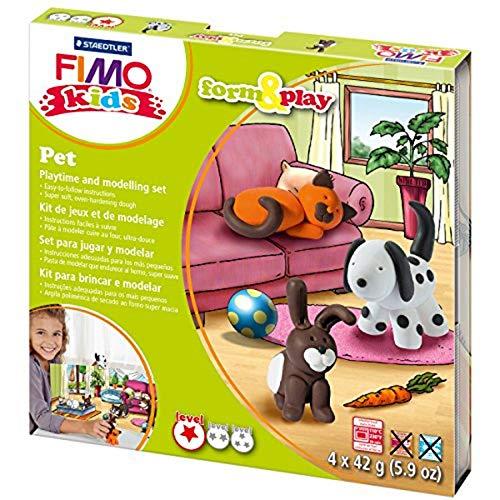 Fimo Kids Farm Formen- und Spiel-Set