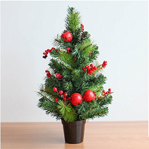 Find Bargain LAOHAO Christmas Decoration Pomegranate Christmas Ornaments Mini Christmas Tree Decorat...