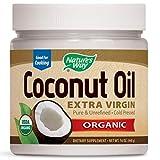 Aceite de coco virgen extra, 0,4 kg, de la marca Nature 's Way