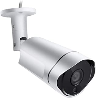 High Resolution 4.0MP AHD CCTV Camera,HD Indoor/Outdoor IP66 Waterproof 36IR LEDs Bullet Camera with IR-Cut Night Vision Motion Detection Video Recording