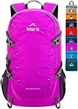 Venture Pal 40L Lightweight Packable Travel Hiking Backpack Daypack-Green