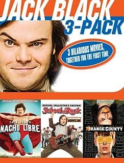 Jack Black 3 Pack (Nacho Libre / School of Rock / Orange County)