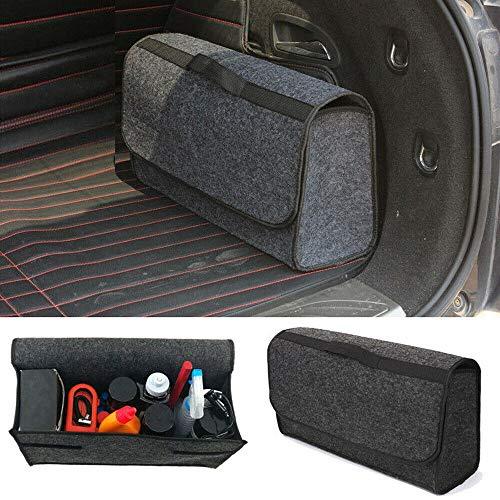☀ Dergo ☀ Trunk Cargo Organizer Foldable Caddy Storage Collapse Bag Bin for Car Truck SUV