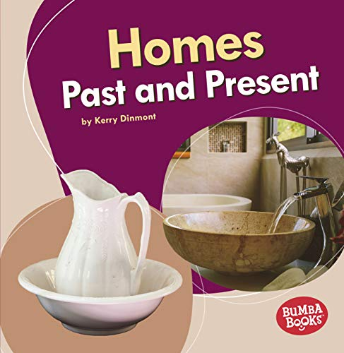 Homes Past and Present (Bumba Books (R) -- Past and Present)
