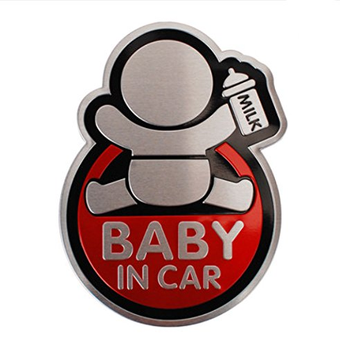 Auto Aufkleber Baby in Car Baby on Board Car Tattoo Reflective Tuning Auto