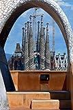 Sagrada Familia Foto-Fotos mit einer Kathedrale Sagrada