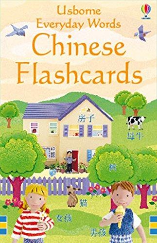 CHINESE FLASHCARDS EVERYDAY WORS (Everyday Words Flashcards)