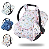 Car Seat Covers for Babies - Carseat Cover Girls with Breathable Peep...