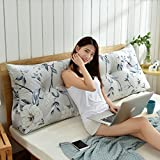 HAOLY Stripe Coussin Triangulaire Wedge Grand traversin,Tête de lit Dossier de...
