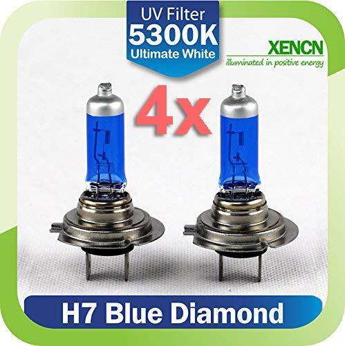 LEDPremium 4x BOMBILLAS HALOGENAS XENCN H7 65W BL EFECTO XENON INCREIBLES !