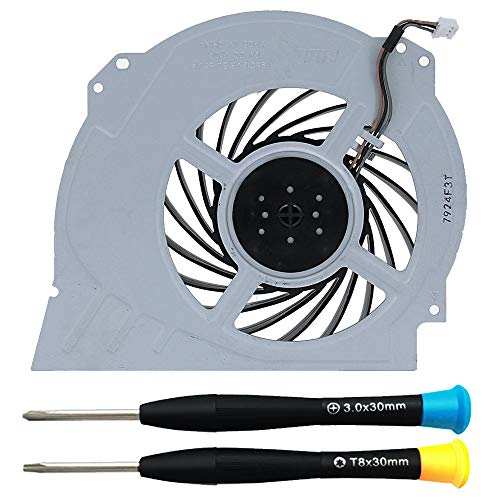 MMOBIEL Ventilador de refrigeración interna KSB1012H / G95C12MS1AJ-56J14 Reemplazo para PlayStation PS4 Pro 3-Pines Incl. TR8 y (+) Destornilladores