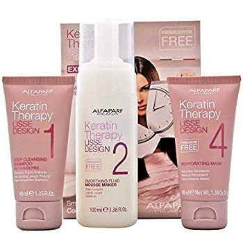 Alfaparf Milano Lisse Design Express Smoothing Treatment Kit 1 Count