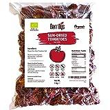 Berrilys, Organic Dried Tomatoes, 1 Kg, Non GMO, Gluten Free, No Sulphur, Sundried, No preservatives