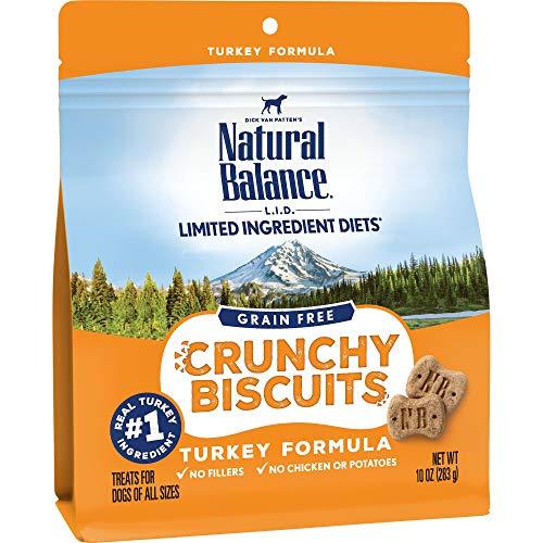 10-Oz Natural Balance Limited Ingredient Diet Crunchy Dog Treats (Turkey) -$4.58(43% Off)