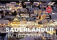 Sauerlaender Fachwerkidylle (Wandkalender 2022 DIN A2 quer): Fachwerkhaeuser im Sauerland (Geburtstagskalender, 14 Seiten )