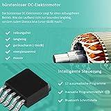 Motorisiertes Laufband 500W mit LCD-Display Elektrisches Fitnessgerät Klappbarer Heimtrainer - 7