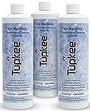 Tupkee Ice Machine Cleaner Nickel Safe - 16oz Ice Maker Cleaner, Universal for Affresh, Whirlpool 4396808, Manitowoc, Kitchenaid, Scotsman Ice Machine Cleaner and Sanitizer Descaler - Pack of 3