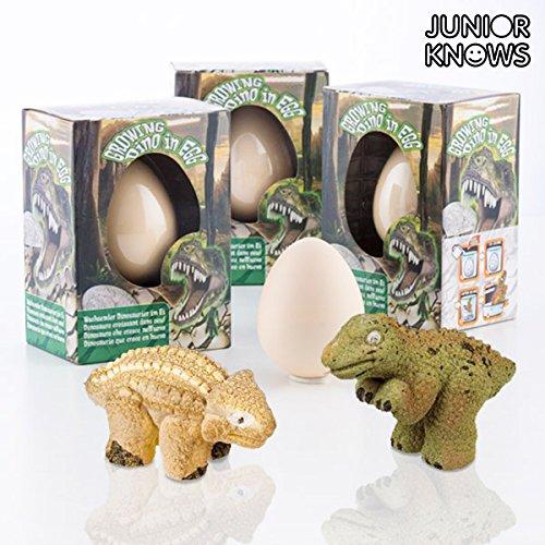 Dino Schlüpf-Ei, 6 cm, mit wachsendem Dino im Inneren