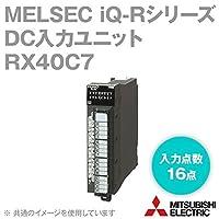 三菱電機 RX40C7 MELSEC iQ-Rシリーズ DC入力ユニット (DC入力: 16点) (定格入力電圧: DC24V) (プラスコモン、マイナスコモン共用タイプ) NN