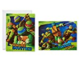 American Greetings Teenage Mutant Ninja Turtles (TMNT) Party Supplies, Invitation and Thank You Card Bundle (8-Count)