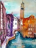 Poster 30 x 40 cm: Venedig, Fondamenta Maria Callas von