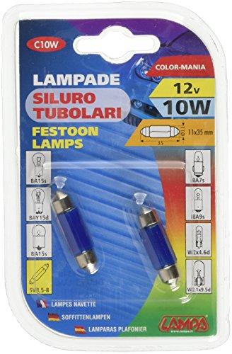 Lampa 58345Lichtrohr, 10W, Blau, 11x 35mm