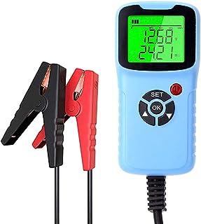 Sangmei Testador de teste de carga de bateria de carro analisador 12V 2000CCA Teste de tensão de bateria de circuito de ca...