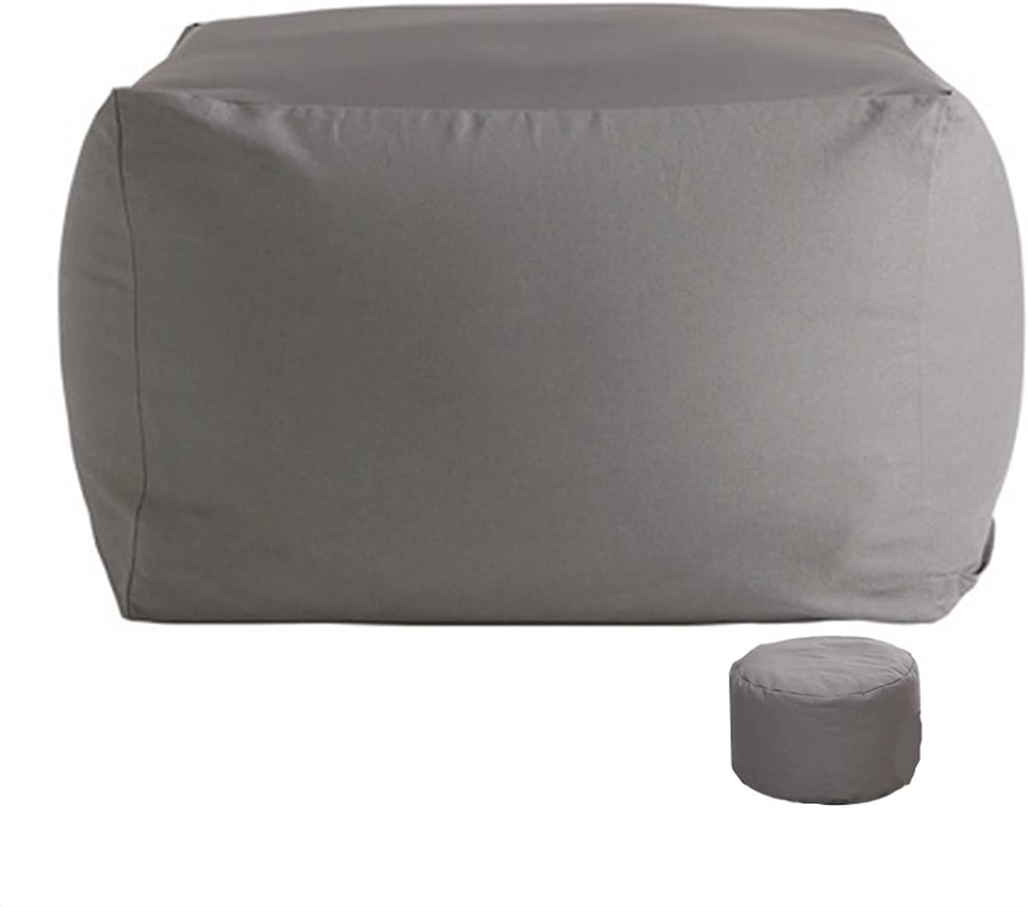 JNOI Bean Bag Chair Special sale item w Foot Giant Stool Ch Foam-Filled All items free shipping Furniture