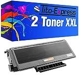 PlatinumSerie® 2 cartuchos de tóner compatibles con Brother TN-3280 Black HL-5340 DN HL-5340 DN 2 LT HL-5340 DNLT HL-5340 DW HL-5340 Series HL-5350 HL-5350 DN HL-5350 DN 2 LT HL-5350 DNLT HL-5350 Series