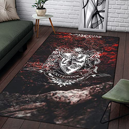 TMIL Bodenmatte, 3D-Bereich Teppiche Grafik Teppichtürmatte für Wohnzimmer Kinder Schlafzimmer Schlafsaal, Schlafzimmer Wohnzimmer Teppichboden,Bb,Small Size 91×152cm