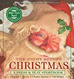 The Night Before Christmas Press & Play Storybook: The Classic Edition Hardcover Book Narrated by Jeff Bridges